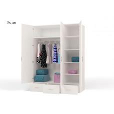 Шкаф 3-х дверный Molly