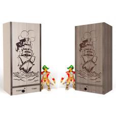 Шкаф 2-х дверный Pirat