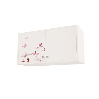 Полка/Антресоль 2 двери с рисунком