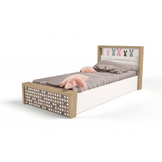 Кровать 3х размеров MIX Bunny pink c под.механизмом №5