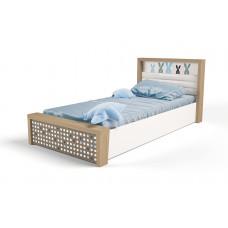 Кровать 3х размеров MIX Bunny blue c под.механизмом №5