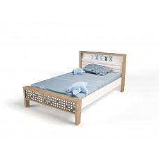 Кровать 3х размеров MIX Bunny blue №1