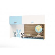 Полка навесная/надстройка на стол MIX Bunny blue