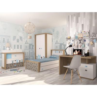 Детская комната MIX Bunny blue
