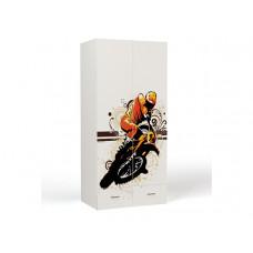 Шкаф 2-х дверный Extreme Moto