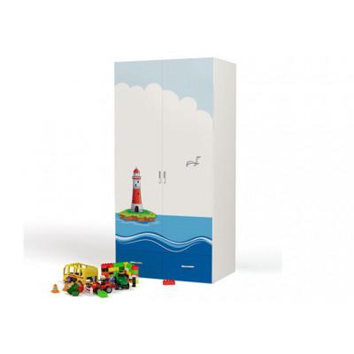 Шкаф 2-х дверный Ocean