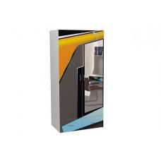 Шкаф 2-х дверный Pilot с зеркалом