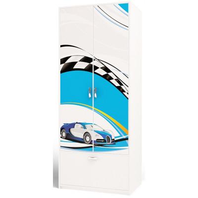 Шкаф 2-х дверный La-Man ABC