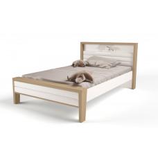 Кровать 3х размеров MIX Ocean с мяг.изножьем №2