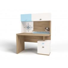 Полка навесная/надстройка на стол MIX Ocean